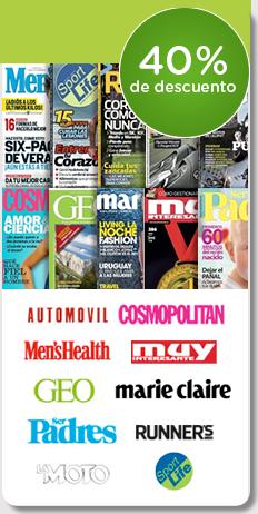 40% de descuento en revistas con Disfruta+por-