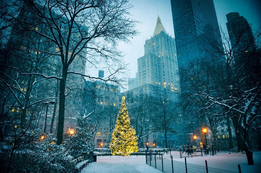 Disfruta más por menos Nueva York Navidad viajar turismo fiestas navideñas